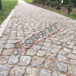 Kostka granitowa, rabatki, ścieżka (2)