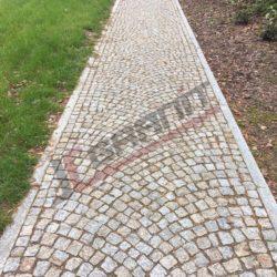Kostka granitowa, rabatki, ścieżka (5)