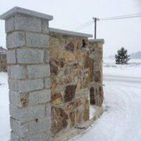 Mur granitowy / Strzegom 2015