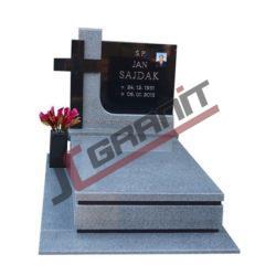 Nagrobek granitowy pojedynczy - model N03