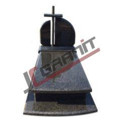 nagrobek granitowy pojedynczy (wzór N07, JC Granit)