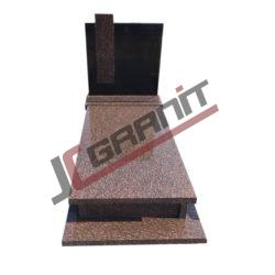 nagrobek pojedyczny (wzór N15, JC Granit)
