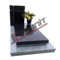 grobowiec granitowy pojedyczny (wzór N17, JC Granit)