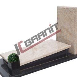 Nagrobek granitowy pojedynczy - wzór N24