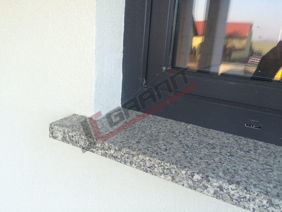 Modernistyczne Parapety Zewnętrzne i Wewnętrzne z Granitu - Strzegom   JC Granit UC61