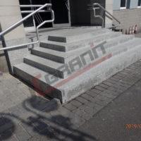 Schody granitowe zewnętrzne / Katowice 2019
